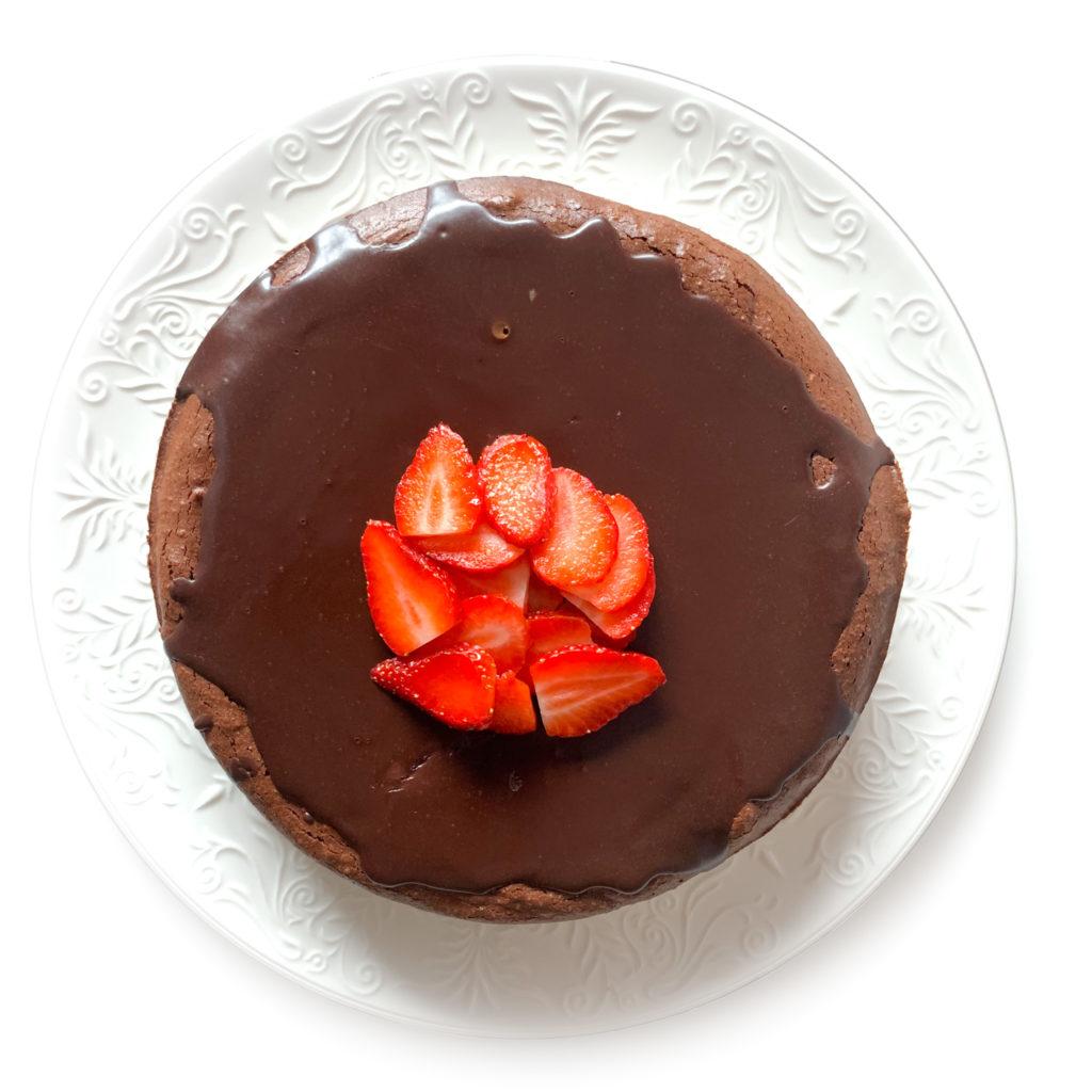 Tarta de chocolate Healthy